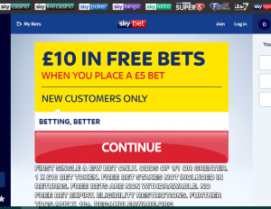 skybet sign up offer